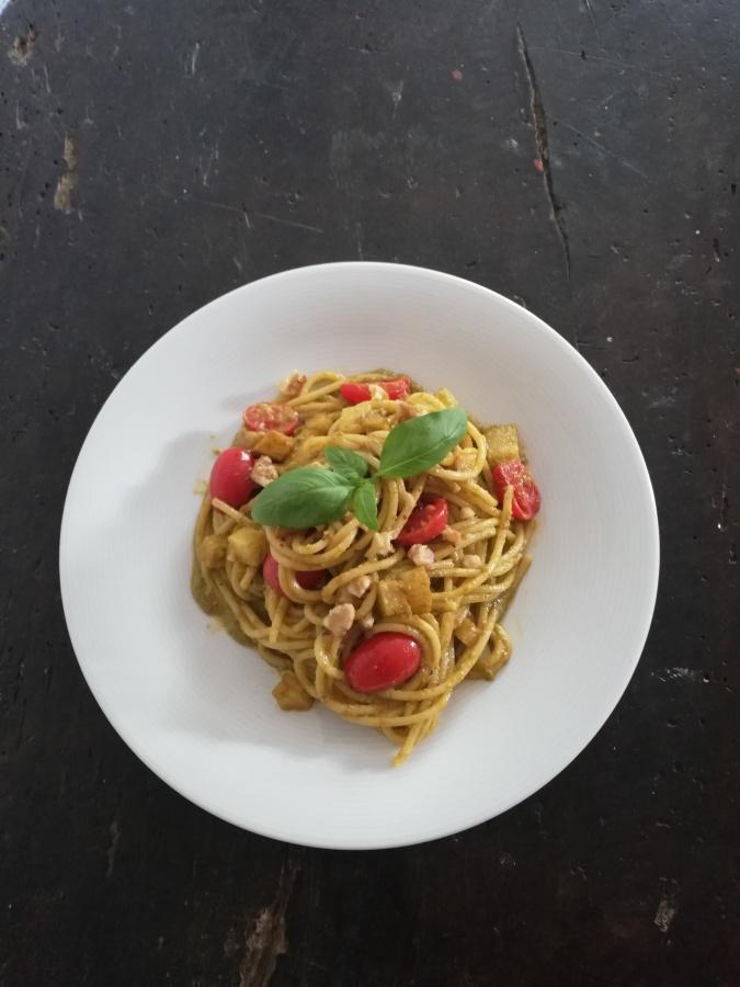 Spaghetti Tastyitali gaumē
